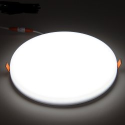مصباح السقف الساخن، مربع دائري، مصباح لوحة LED مدمج SMD2835 بقدرة 18 واط مع RoHS CE