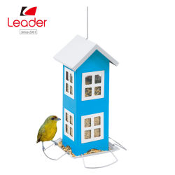 Сад декоративные висящих Водонепроницаемая конструкция дома диких птиц камеры питателя