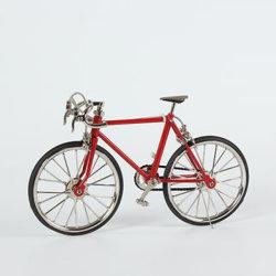 Modelo de bicicleta de carreras de 1/10 de la decoración del modelo de bicicletas