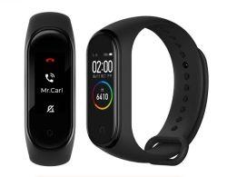 Miバンド4スマートなリスト・ストラップの適性のブレスレットのスマートな電話のための大きいタッチ画面SMSの心拍数Smartband