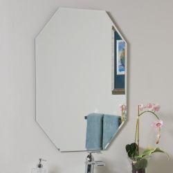 1/4 Met een laag bedekte Spiegel van het Aluminium van het Decor van de Lengte van de Badkamers van de Zwaaihaak '' Volledige Zilver