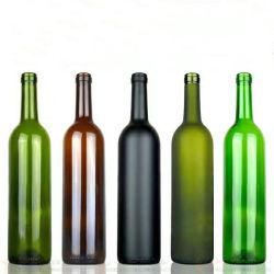 La FDA Certificado Premium Botella de vino de cristal