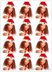 Warme Sport GLB van de Winter van 100% de Acryl Gebreide voor Kerstmis