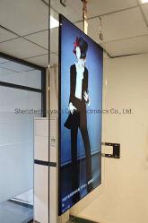 49 polegadas, ecrãs duplos publicidade rede Media player de vídeo multimédia Ad Player WiFi HD Digital Signage Monitor de LED do painel LCD