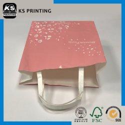 Emballage de cadeau Recyclable Papier Art d'impression couleur des sacs de magasinage