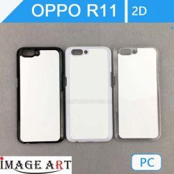 Oppo R11 Sublimation vierge téléphone PC cas 2D/couvercle pour le transfert de chaleur de l'impression