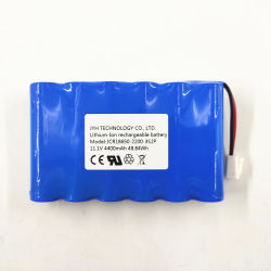 18.650 de iones de litio para la aplicación del dispositivo de iluminación