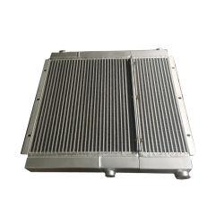 Plaque personnalisée de haute performance fin de l'échangeur thermique en aluminium refroidisseur eau-air