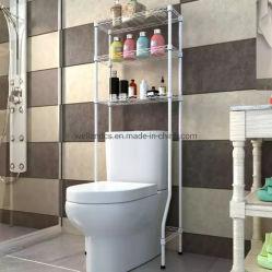 Многофункциональная белый металлический ванная комната в стиральной машине туалет полка для хранения