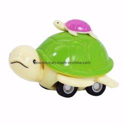 Bon marché de jouets en plastique de la promotion de tirer en arrière des voitures Mini Modèle Animal