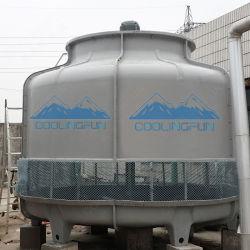 Station de mélange de béton utilisé le PRF de type rond tour de refroidissement par eau