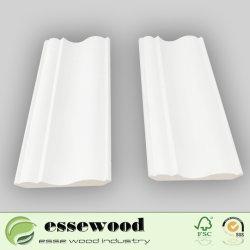 Modanatura di modellatura del soffitto della piccola e parte superiore larga di legno di pino decorativo