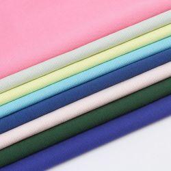 Nouveauté High-End 66%T34%C Tissu de coton tricotés Warp pique pour T-shirt robe