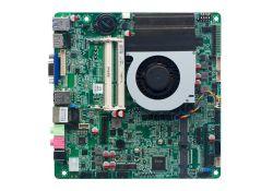 Processador Intel i5 6267u Mini-ITX Motherboard 6 RS232 Thin Itx Board para sinalização digital