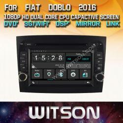 Automobile DVD dello schermo di tocco di Witson Windows per FIAT Doblo 2016