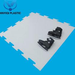 Fiche synthétique résistant à la corrosion de la glace en PEHD Ice Rink Board