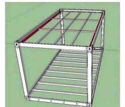 Fabrik-Zubehör Hight Qualitätsstahlrahmen-moderne modulare vorfabrizierte bewegliche Behälter-Haus-Luxuxvorfabriziertverkäufe mit Glaswand für Büro