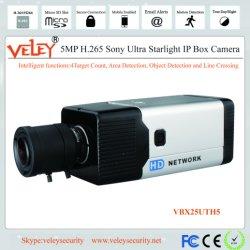 5MP mégapixels sécurité Starlight HD vidéo IP Caméra Bullet Case