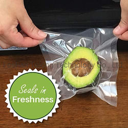 Guarnizioni fresche del sacchetto di vuoto della frutta nella freschezza