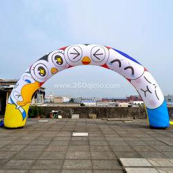 Реклама продукции дешевые надувные колесной арки для продажи/надувные арки GM777