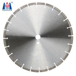 Het laser Gelaste Blad van de Cirkelzaag van het Type van Diamant Natte