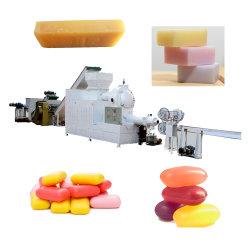 Limpieza automática completa línea de servicio de lavandería baño jabón jabón de baño sólida línea de producción de máquina de hacer