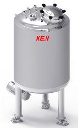 薬学、乳製品、注入水で使用されるPrssureタンクを混合する2000L真空の倍のJacketed電気暖房の化学ステンレス鋼
