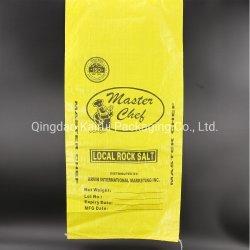 Le sel Le sel ou du SAC SAC DE PP Sac tissé/sac de sel à l'emballage