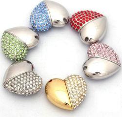 [هيغ-كلسّ] ماس مجوهرات قلب شكل [أوسب] برق إدارة وحدة دفع لأنّ هبة ترويجيّ