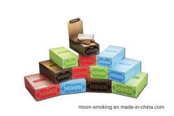 12.5gsm - 20gsm 오르식성 헴프/플락/우드 사용자 지정 브랜드 롤링 페이퍼 맞춤형 흡연 액세서리 담배 종이 공장
