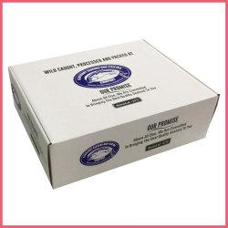 Custom 5 cores à prova de impressão Flexo bife de papel ondulado marisco congelados de carne de porco de frango Camarão carne de carneiro peixes caixa de papelão da embalagem Embalagem