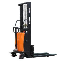 1,5 Ton 1500kg Cdsd15 Elektro-Palettenstaplerwagen Semi-elektrische Leistung Palettenstaplerbatterie betrieben mit CE ISO
