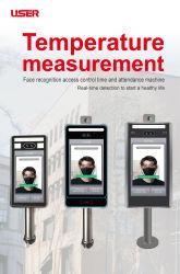 Dispositivo di misurazione astuto di temperatura corporea di riconoscimento di fronte dell'utente per il sistema di controllo di accesso