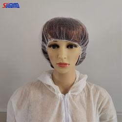Colorido papel de la Enfermería Quirúrgica desechable cabello tapa Tapa de redes