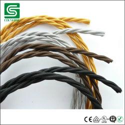De uitstekende Draad van de Kabel van de Draad van de Kabel van de Draad van de Stof van de Stijl Elektro Textiel