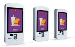 15.6, 17, 19, 22, 27, 32, 37, 43, 55-inch zelfbedieningsterminal voor bestelmachines, gebruikt voor bestelling van een High Count Meal LCD-kiosk met aanraakscherm