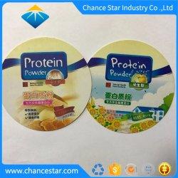 Logo de marque personnalisée de l'impression PP tasse en plastique mat Coasters
