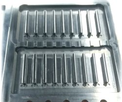プロセス携帯電話のアクセサリを磨く健全なボタン力ボタンのアルミ合金の鍛造材CNCミラー