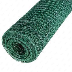 Rete metallica esagonale rivestita del PVC per la maglia del pollo