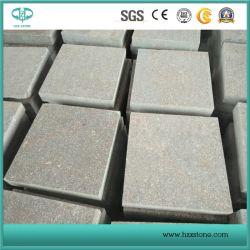 Carreaux de granit de porphyre rouge flammé pour les carreaux de revêtement de sol/Paving Stone/galets Stone