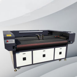 Alimentação automática de boa qualidade máquina de corte a laser do Cortador de tecido de Impressão Digital