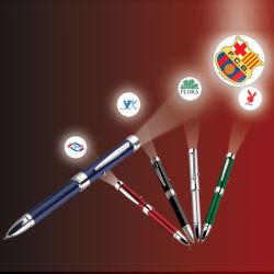 El logotipo de la luz láser proyector Metal Pen con logotipo personalizado