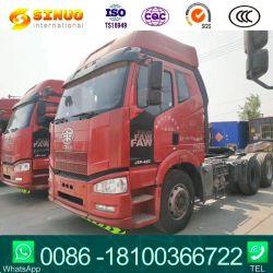 Usa la cabeza del Tractor de FAW Truck JH6 6X2 / 6X4 460CV 500HP de transporte de carga de la suspensión de aire Liftable Globo Carretillas tractor del eje trasero