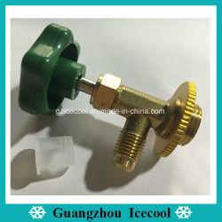 냉각 부속 구리는 벨브 R134A R12 CT-339 CT-338를 위한 금관 악기 가스 벨브를 두드릴 수 있다