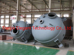 Tubo de titânio e estrutura do trocador de calor do Shell/Pacote do Tubo de Aço/ Tubo de titânio