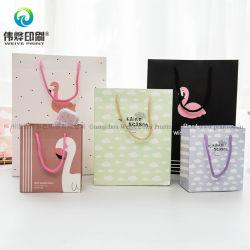 Ano Novo personalizado Cookie de moda de sacos de papel com a corda para compras