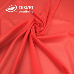 30D PA coloridos tecidos de elos fusíveis Interlining para senhora fabricante de roupas