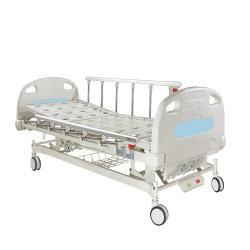3 Manuel d'agiter lit médical avec quatre roulettes silencieuses