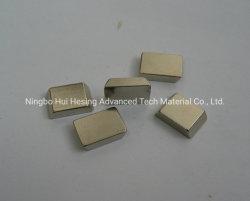 Металлокерамические NdFeB магнит, форма с покрытием Nickle блока цилиндров