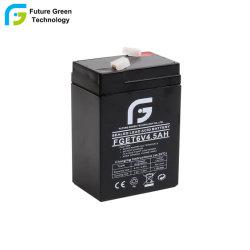 6V4.5ah de verzegelde Batterij van de Vervanging van het Lood Zure